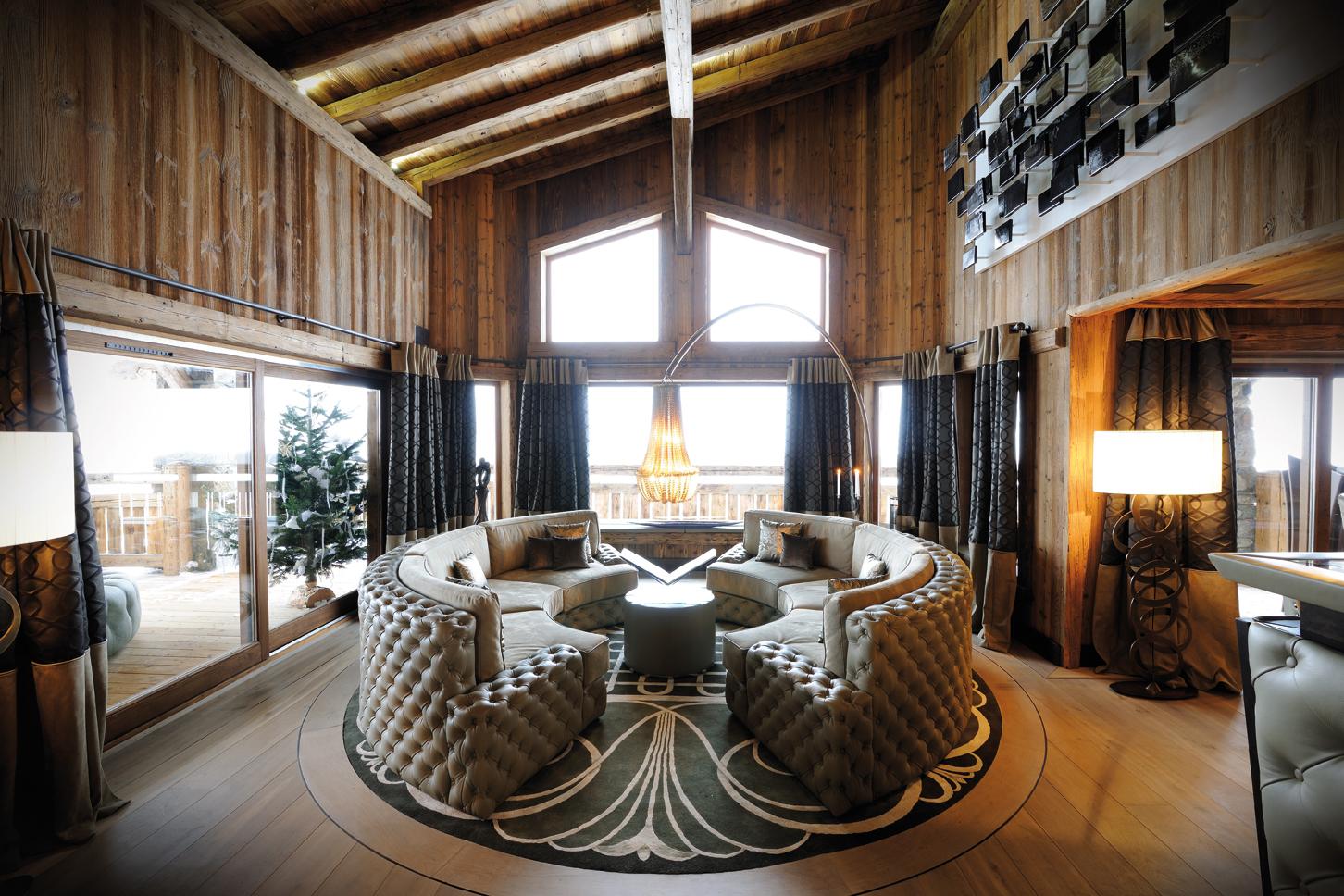 Le Refuge Megeve Architecte sun arbois - megève, france | visionnaire home philosophy