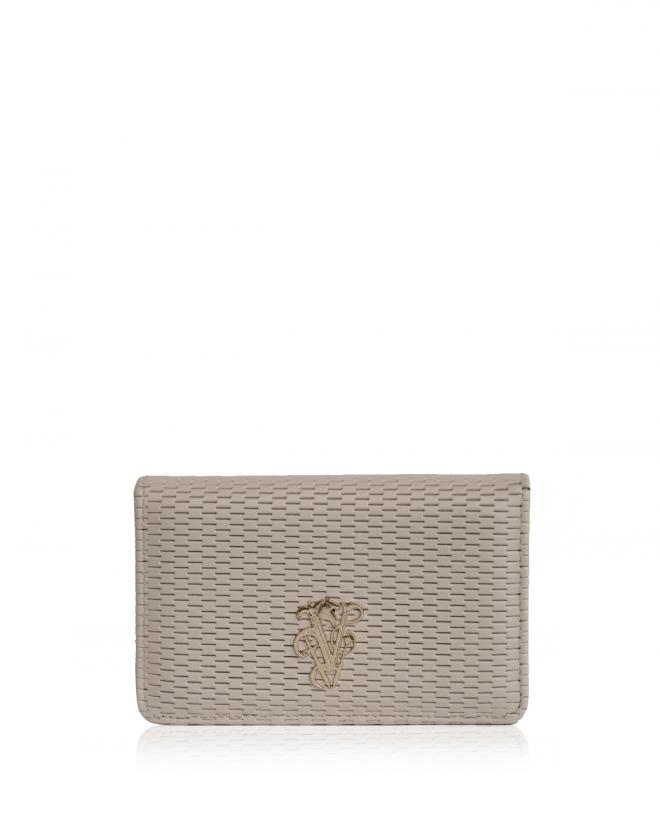 Explorer business card holder beige