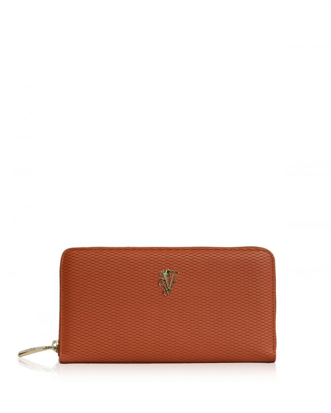 Explorer zip around wallet orange