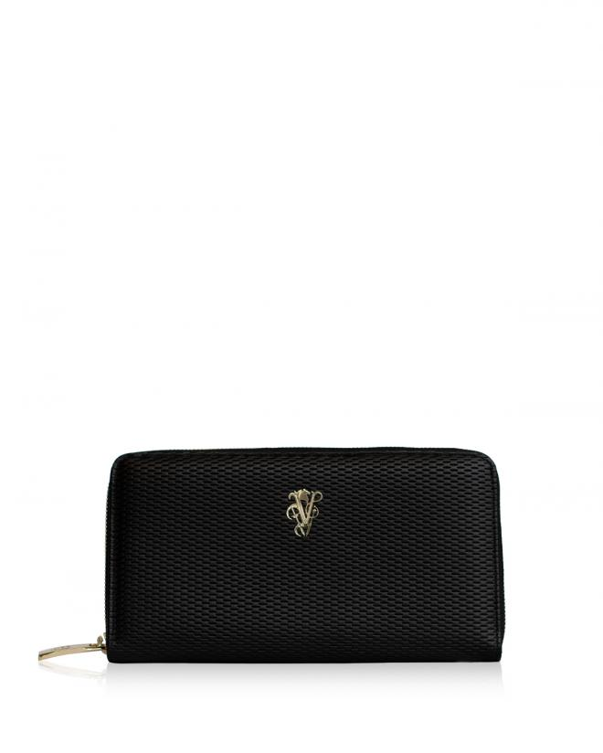 Explorer zip around wallet black