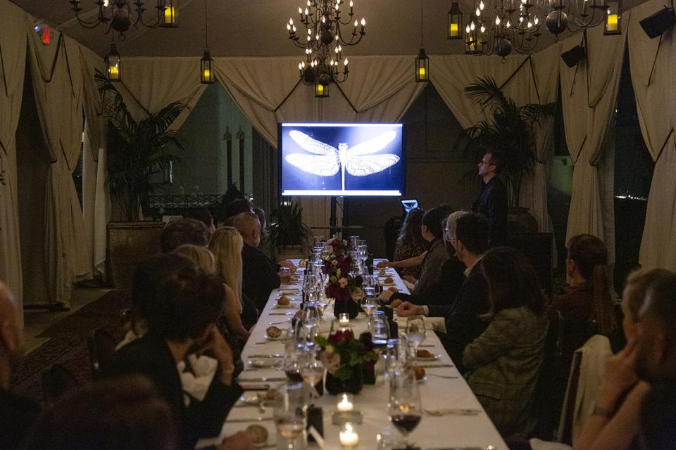 Visionnaire Anniversary Dinner in New York City
