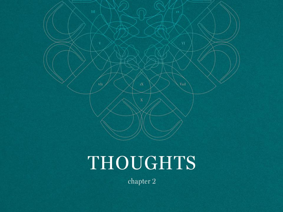 Thoughts - Chapter 2